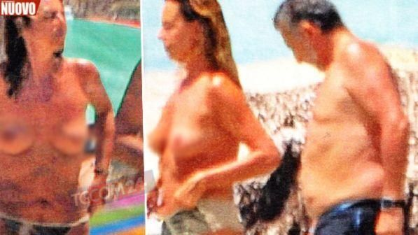 Paola Perego super sexy in topless a Formentera