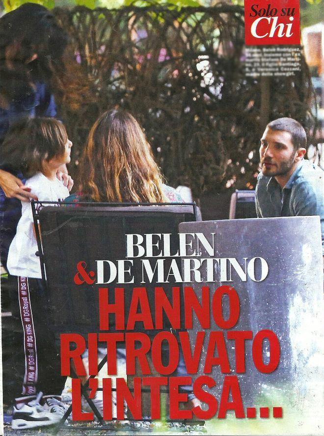 Belen Rodriguez e Stefano De Martino tornano insieme dopo l'addio a Iannone?