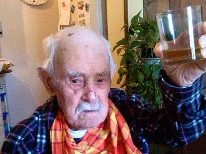 Morto a 112 aani Valerio Piroddi : l'uomo più vecchio d'Italia