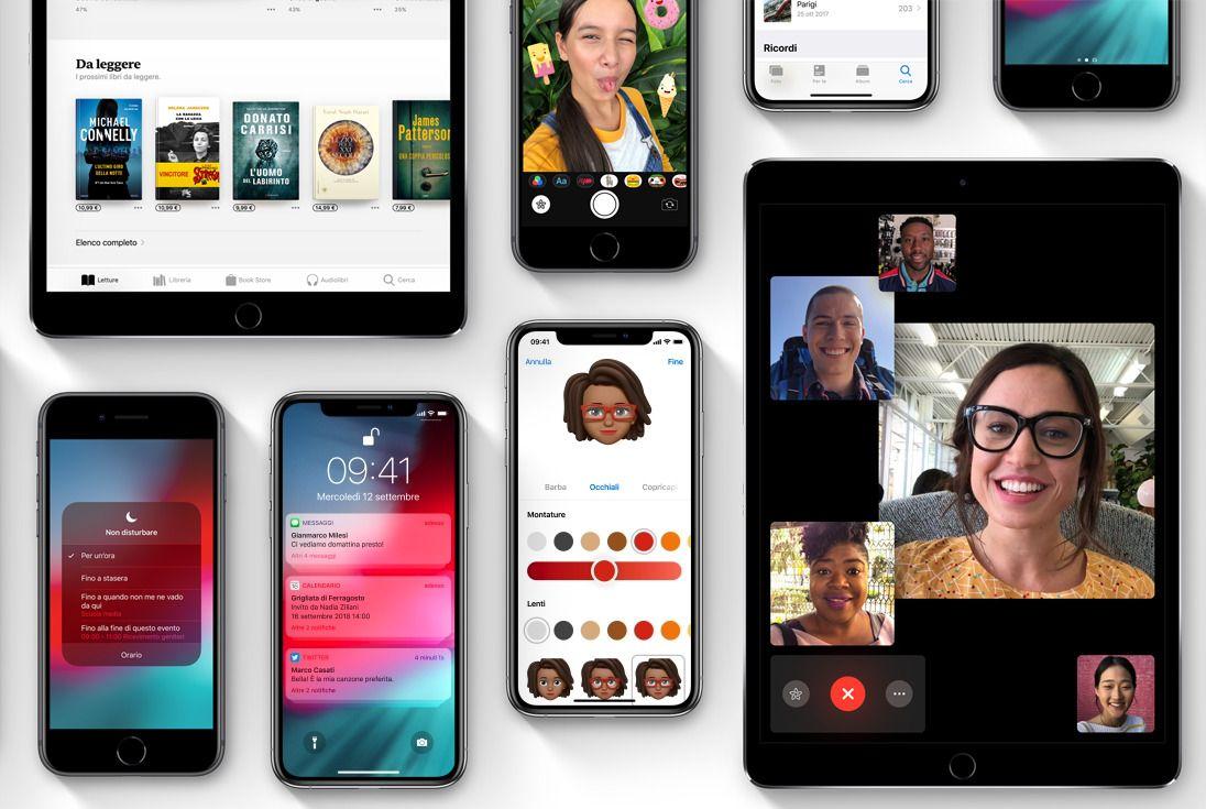 Apple rilascia iOS 12.0.1 per tutti i suoi dispositivi - Download