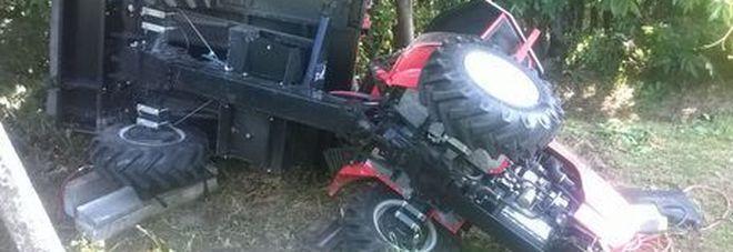 Cuneo : Muore a 6 anni travolto dal trattore del nonno