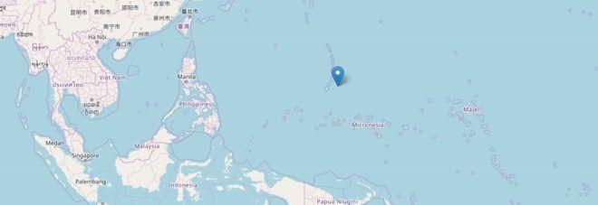 Terremoto Oggi/ Violente scosse nel Pacifico : Magnitudo 6 Allarme Tsunami