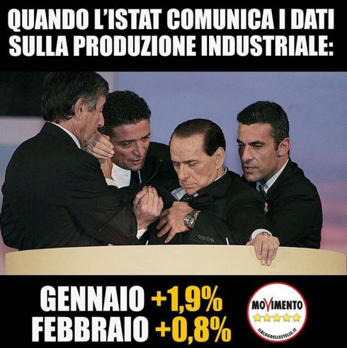 Silvio Berlusconi colto da malore su Instagram M5s