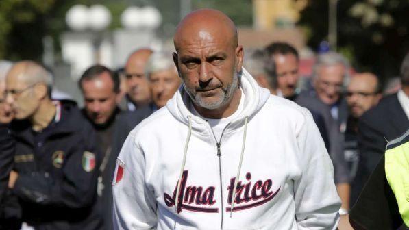 Sergio Pirozzi lascia l'incarico di sindaco di Amatrice
