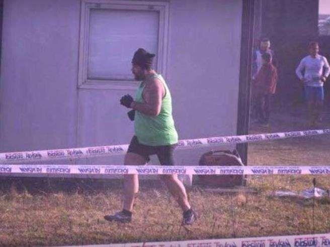 Atleta sovrappeso offeso in gara : #iosonomarcoascari
