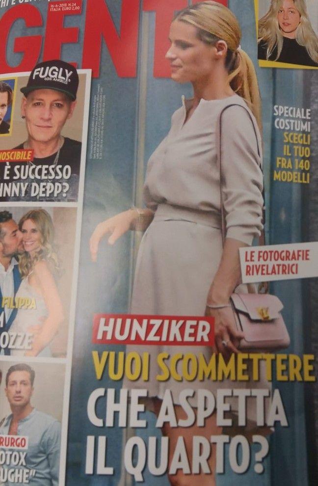 Michelle Hunziker incinta del quarto figlio? Ecco le foto del gossip