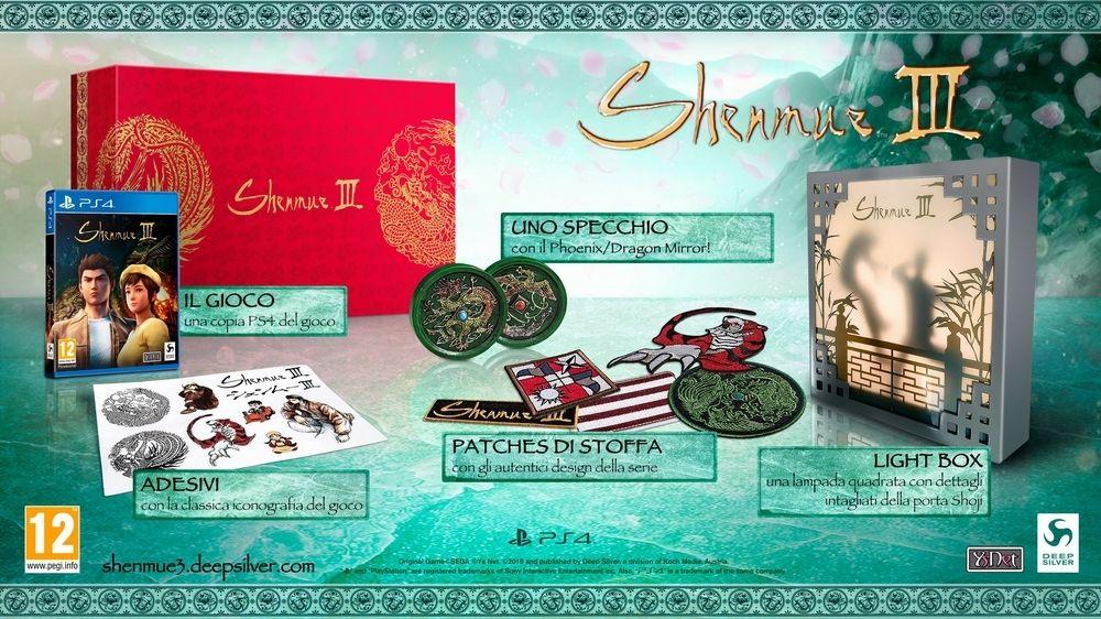 SHENMUE III – Annunciata la Collector's Edition