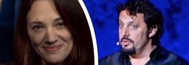 Asia Argento a Enrico Brignano : Sei un buzzicone