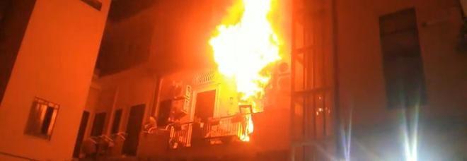 Incendio Messina, morti due bambini nel rogo : Raniero e Francesco di 10 e 13 anni
