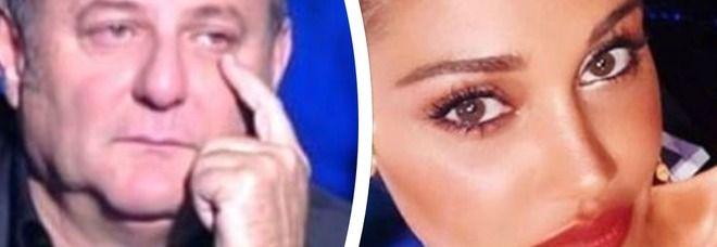 Gerry Scotti e la battuta su Belen Rodriguez : ho perso sei diottrie