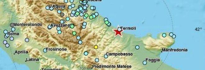 Terremoto Molise : scossa di magnitudo 5.2 a Montecilfone