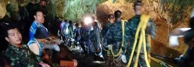 Thailandia : sub muore nella grotta durante i soccorsi ai piccoli calciatori