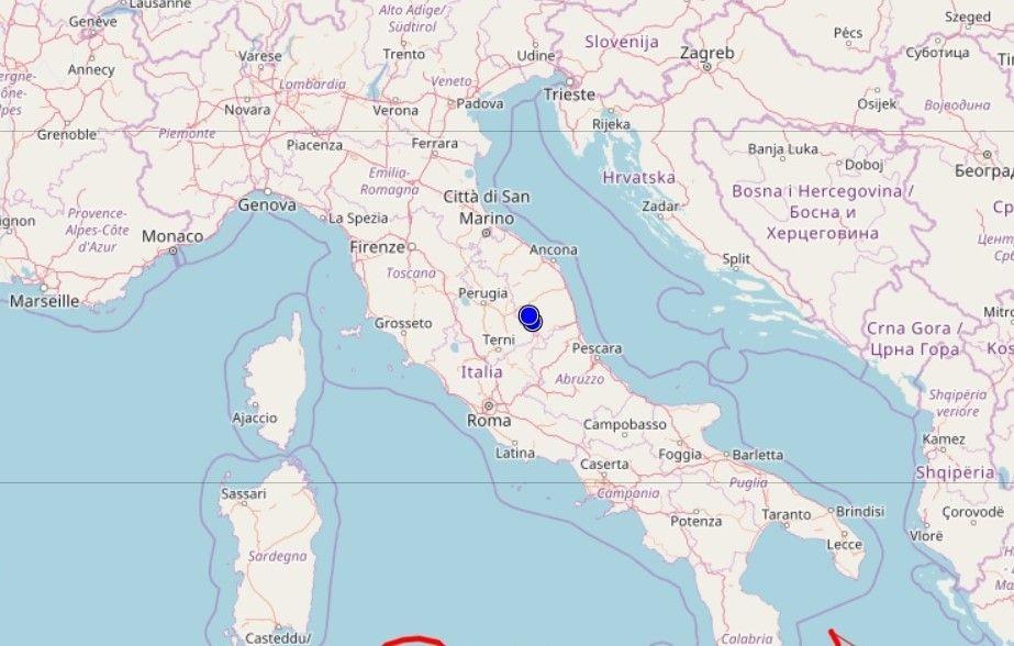Lamezia, scossa di terremoto 3.5