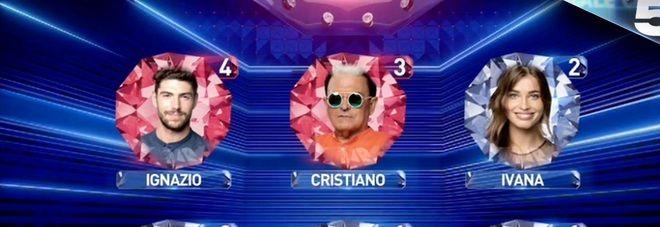 Grande Fratello Vip Ultima Puntata : nomination Cristiano Malgioglio e Ignazio Moser - Fuori Cecilia Rodriguez