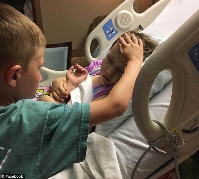 La piccola Addy malata di tumore sta morendo, il fratellino di 6 anni l'accompagna nel suo viaggio