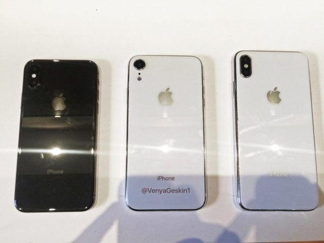 Nuove immagini leaked dei tre iPhone