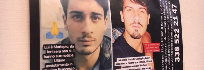 Caserta : Il 22enne Mario Pio Zarrillo trovato morto, era sparito da casa venerdì sera