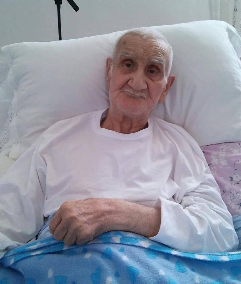 E' morto Nonno Mariano : A 90 anni fu sfrattato dalla sua casa