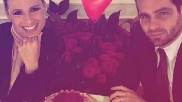 Michelle Hunziker e Tomaso Trussardi innamoratissimi per l'anniversario di nozze