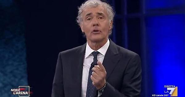 Massimo Giletti : Andiamo nei luoghi in cui lo Stato non va... Fabrizio Corona sta bene, ma è scosso