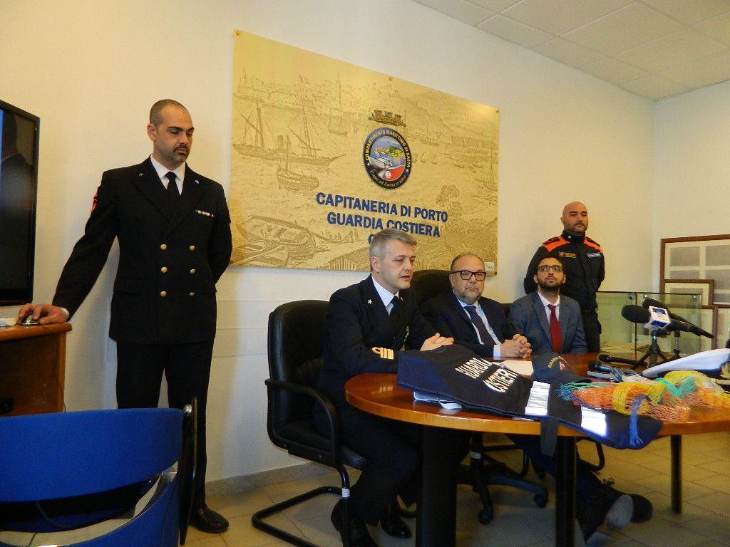 Operazione Retini alla deriva della Capitaneria di Porto di Gaeta