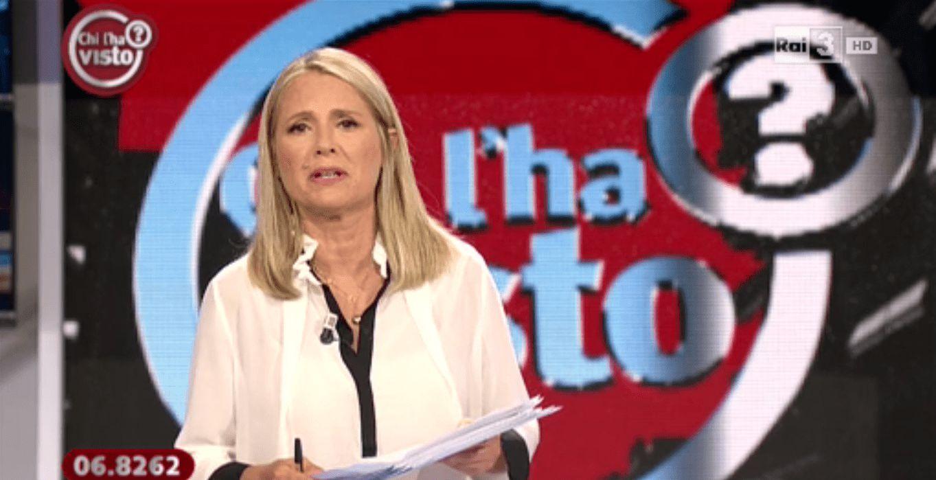 Vaf***! Federica Sciarelli insultata in diretta tv: imbarazzo a Chi l'ha visto?