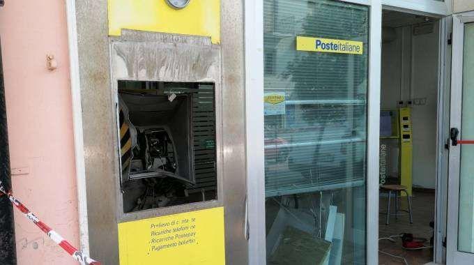 'Prelievo' da 25mila euro! Bancomat esploso a Comacchio