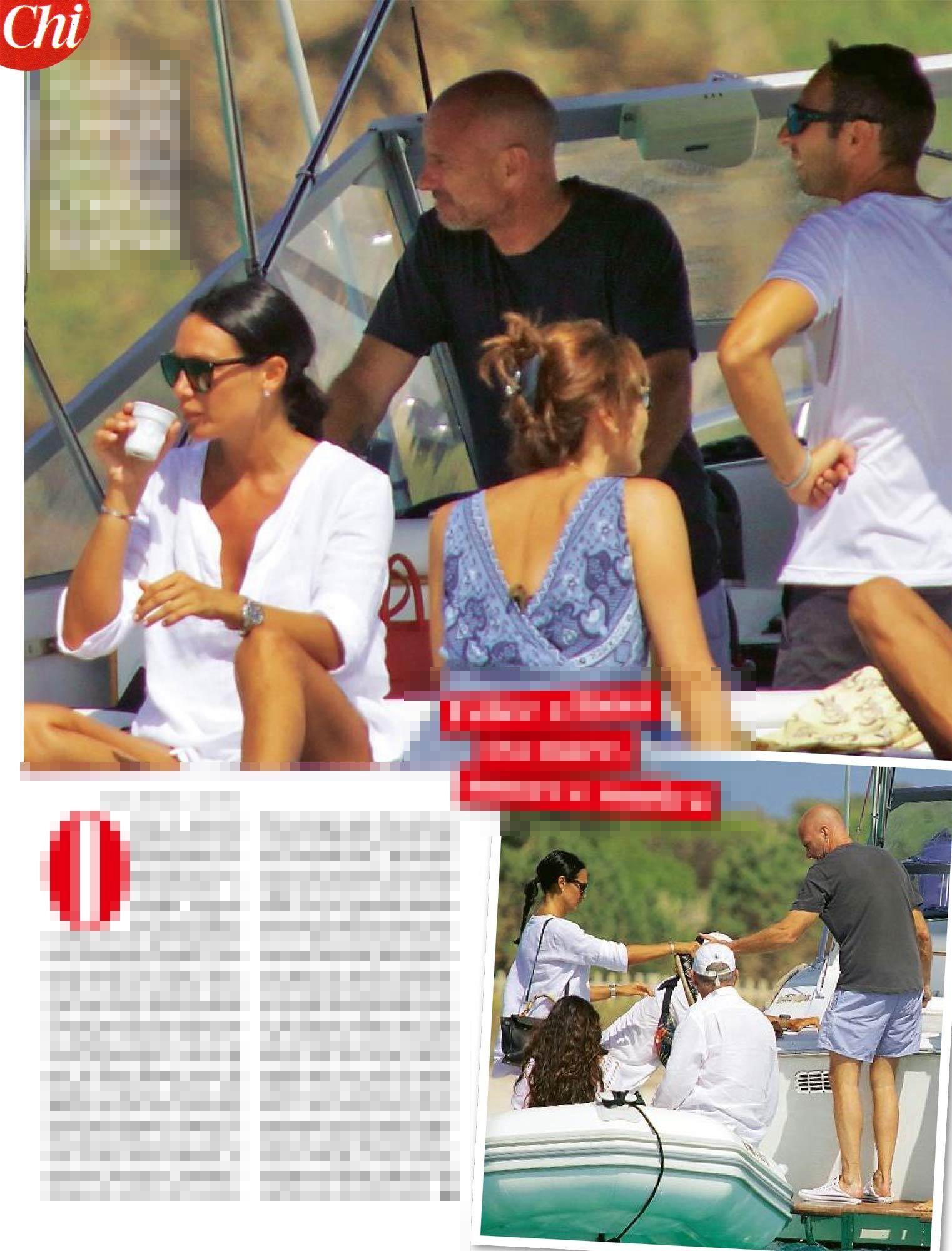 Nicole Minetti : L'ex consigliera sempre super sexy a Ibiza