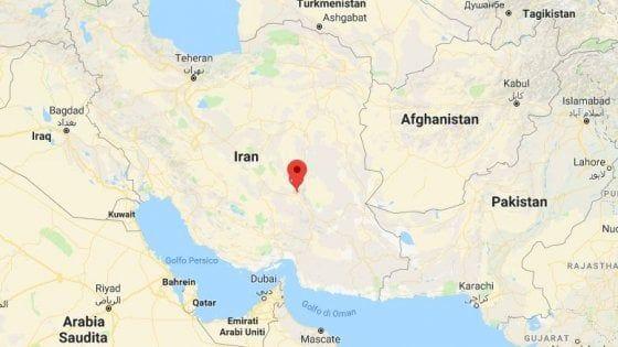 Iran : scossa di terremoto magnitudo 6