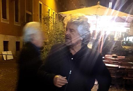 Beppe Grillo a Roma : Il comico genovese alla Camera per una conferenza sull'acqua pubblica