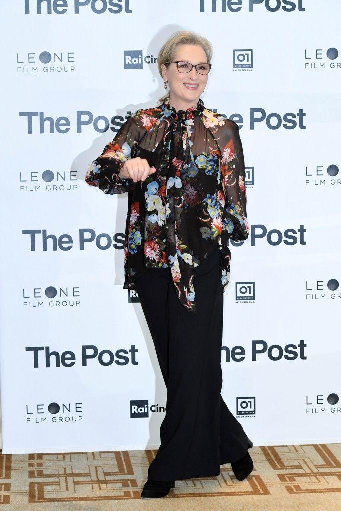 Meryl Streep a Milano per The Post : Hollywood ha reso le donne coraggiose