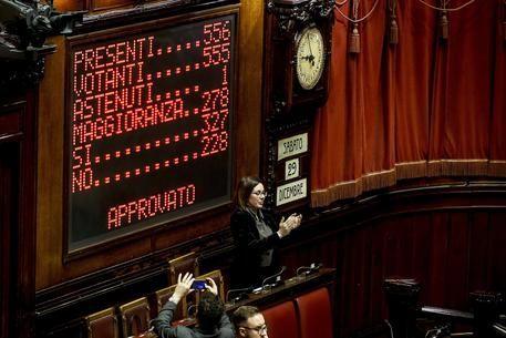 Finalmente! Manovra, 327 favorevoli, il governo ottiene la fiducia alla Camera