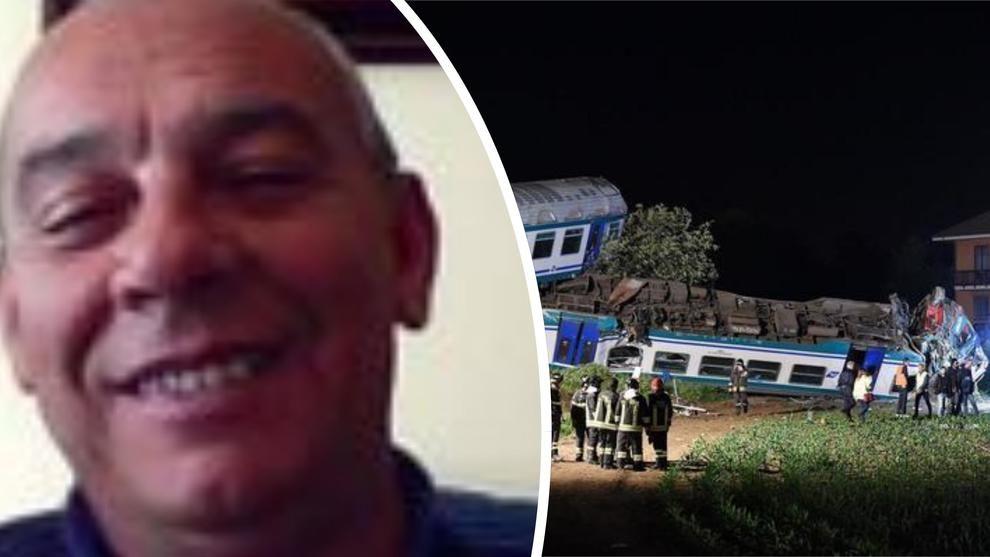 Treno Deragliato : Morto il 61enne Roberto Madau, sarebbe andato in pensione tra pochi mesi