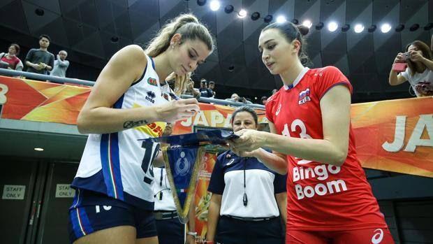Mondiali Volley Femminile : Italia alla Final Six