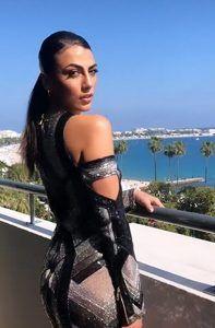 Provocante Giulia Salemi a Cannes con un look alla Kim Kardashian