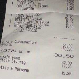Roma : sullo scontrino di un ristorante scritte omofobe, cameriere licenziato