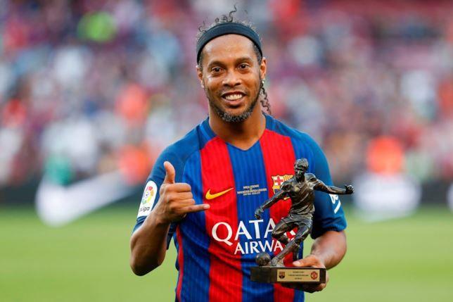 Ronaldinho è in in rovina per una multa ... ha solo 6 euro sul conto