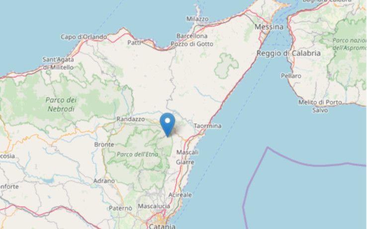 Terremoto oggi Sicilia : due scosse di magnitudo 3.3 e 3.1
