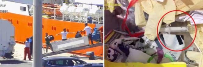 Scaricava in Italia rifiuti infettivi dei migranti! Sequestrata la nave Ong