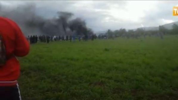 Precipita aereo militare in Algeria : Almeno 257 morti