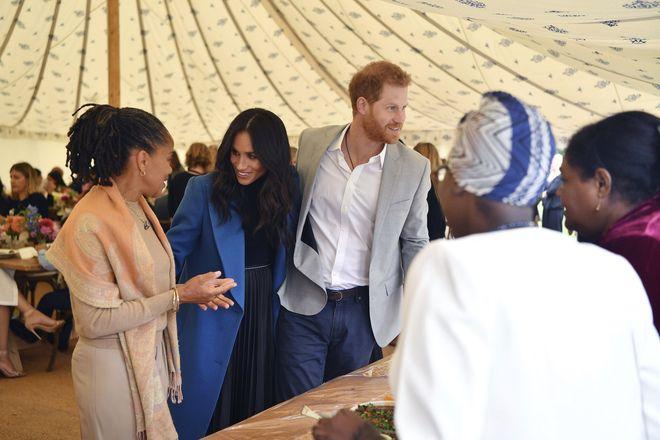 La duchessa di Sussex Meghan Markle è incinta del suo primo figlio