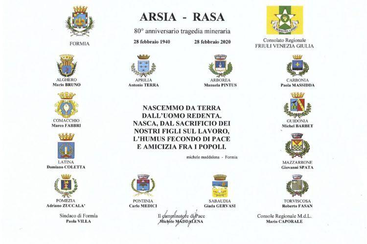 La Fabiani Formia collabora con Michele Maddalena per il progetto Arsia