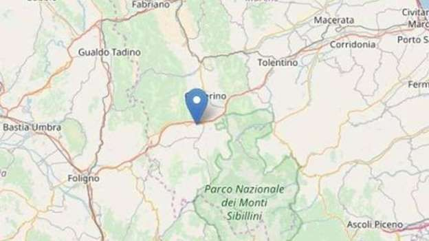 Terremoto Macerata : nuova scossa a Pieve Torina magnitudo 3.4