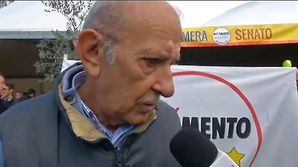 Il padre di Alessandro Di Battista augura a Silvio Berlusconi di morire al più presto!