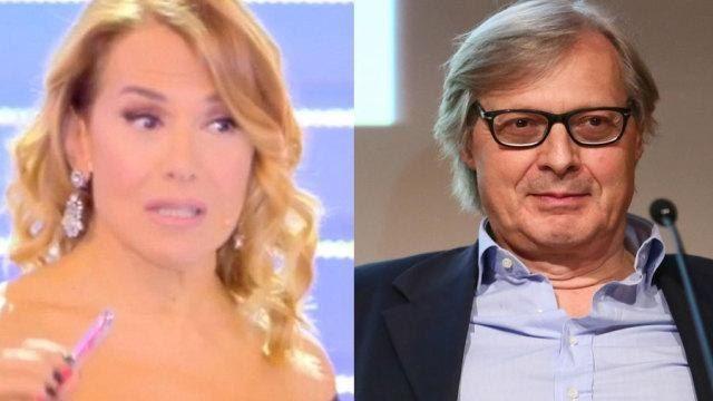Sei il capolavoro del trash! Vittorio Sgarbi contro Barbara D'Urso