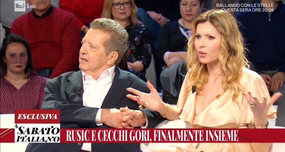 Vittorio Cecchi Gori e Rita Rusic sono tornati insieme per il bene dei figli