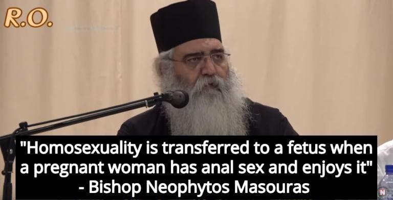 I gay nascono quando le donne in gravidanza fanno sex anale! Le dichiarazioni shock del vescovo