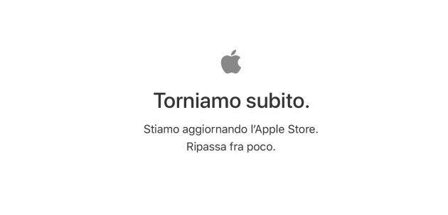 L' Apple Store è Offline, nuovo evento ore 19.00, novità in arrivo?
