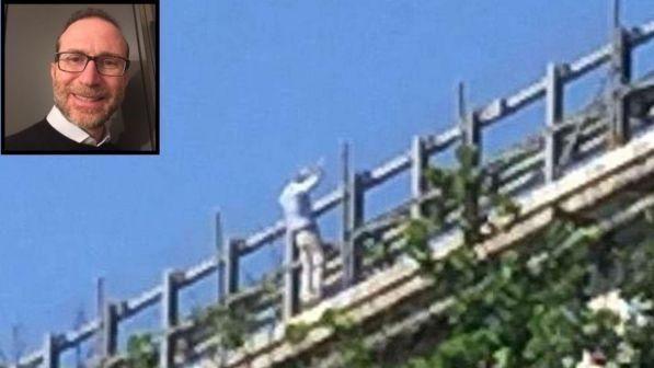 Chieti : Fausto Filippone lancia la piccola Ludovica dal ponte dell'A14 e poi si getta nel vuoto