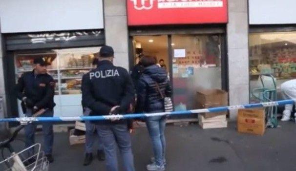 Milano : Donna cinese uccisa a coltellate nel suo negozio